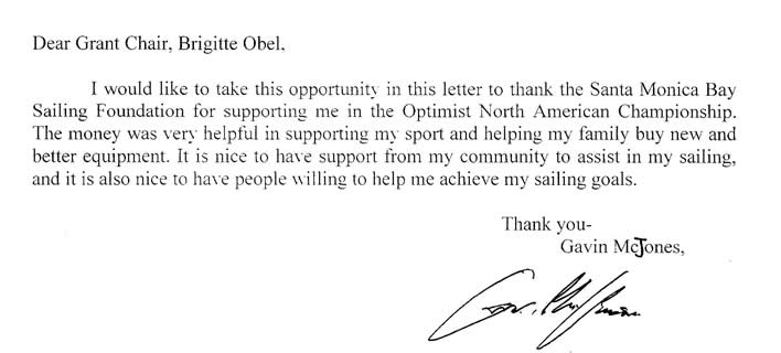 grant thank you letters